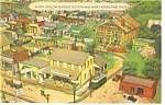 Click here to enlarge image and see more about item p7573: Hamburg,PA, Roadside America, Sleepy Hollow Postcard
