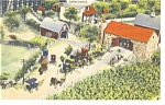 Hamburg,PA, Roadside America, Barn Dance Postcard