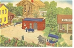 Hamburg PA  Roadside America Henry Ford Shop Postcard p7589
