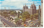 Salt Lake City  Utah Temple Square Postcard p7628
