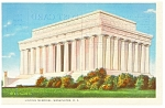 Washington, DC, Lincoln Memorial Postcard