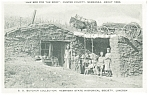 Custer County NE Sod Home Postcard p7680