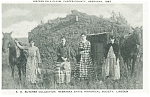 Click here to enlarge image and see more about item p7683: Custer County, NE, Sisters on a Claim Postcard