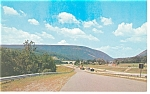 Delaware Water Gap, PA, Highway Scene Postcard