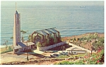 Click here to enlarge image and see more about item p7690: Rancho Palos Verdes, CA, Wayfarers' Chapel  Postcard