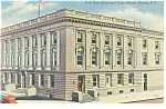 Elmira, NY  Post Office Postcard