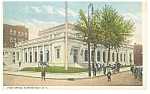 Schenectady, NY  Post Office Postcard