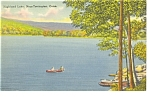 Click here to enlarge image and see more about item p7746: Torrington, CT, Highland Lake Postcard