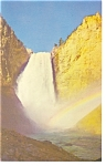 Lower Falls Yellowstone National Park WY Postcard p7800