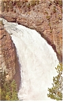 Upper Falls Grand Canyon Yellowstone National Park PC