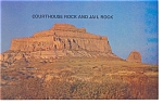Click here to enlarge image and see more about item p7822: Courthouse Rock & Jail Rock ,NE, Postcard