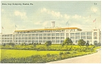 Easton PA Dixie Cup Company Postcard p7825