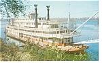 Mississippi River Sternwheeler  Postcard