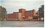 Tuscaloosa, AL, Druid City Hospital, Postcard, Cars