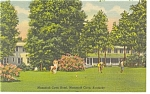 Mammoth Cave Hotel  KY  Linen Postcard p7894