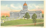 Frankfort, KY, State Capitol Postcard