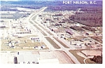 Click here to enlarge image and see more about item p7944: Fort Nelson British Columbia Canada Postcard p7944