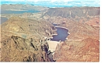 Click here to enlarge image and see more about item p7991: Hoover Dam and Lake Mead Postcard p7991