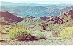 Click here to enlarge image and see more about item p7992: Lake Mead NV Virgin Canyon Postcard p7992