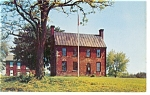 Click here to enlarge image and see more about item p8028: Appomattox Court House VA Tavern Postcard p8028