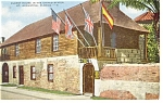 St Augustine FL Oldest House in USA Postcard p8088