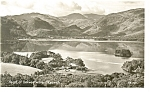 Click here to enlarge image and see more about item p8134: Head of the Derwentwater, Keswick Real Photo Postcard