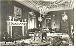 Warwick Castle,Cedar Drawing Room Real Photo Postcard