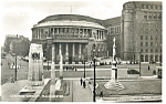 Click here to enlarge image and see more about item p8137: Central Library ,Manchester Real Photo Postcard