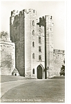Warwick CastleThe Clock Tower Real Photo Postcard p8141