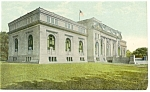 Click here to enlarge image and see more about item p8148: Washington DC Carnegie Library Postcard p8148