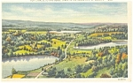 Vermont, Lakes Hortonia,Echo and Bebee Postcard
