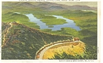 Whiteface Memorial Highway NY Castle in View Postcard p8168