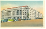 Click here to enlarge image and see more about item p8174: Washington DC Department of Commerce Building Postcard p8174