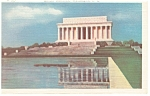 Washington,DC, Lincoln Memorial Postcard