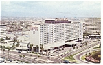Click here to enlarge image and see more about item p8181: Los Angeles CA  International Hotel at LAX Postcard p8181