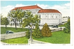 Click here to enlarge image and see more about item p8191: Washington DC Corcoran Art Gallery Postcard p8191