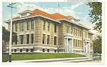 Click here to enlarge image and see more about item p8196: Middletown, OH, High School Postcard
