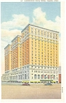 Toledo OH Commodore Perry Hotel Postcard p8199