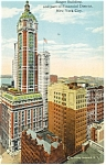 New York City, NY, Singer Building Postcard 1912