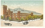 Click here to enlarge image and see more about item p8208: Brooklyn , NY, 23rd Regiment Armory Postcard 1920