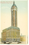 New York City, NY, Singer Building Postcard