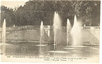 Versailles France Garden of the Great Trianon Postcard p8242