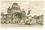 Click here to enlarge image and see more about item p8251: Nurnberg Germany The Main Railroad Station Postcard p8251