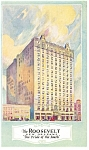 New Orleans LA The Roosevelt Hotel Postcard p8260