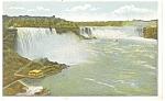 General View of  Niagara Falls Postcard ca 1930