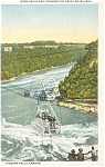 Click here to enlarge image and see more about item p8275: Aero Cable Car Niagara Falls Postcard p8275