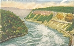 Great Gorge and Rapids of  Niagara River Postcard