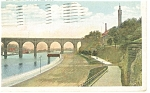 New York City NY High Bridge Postcard p8283 1921