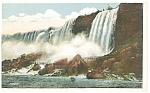 Rock Ages American Falls, Niagara Falls Postcard