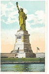 New York City Statue of Liberty Postcard p8297